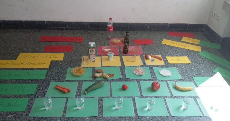 Projekt: Werde ein Ernährungsprofi!