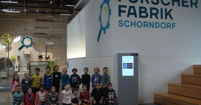 Beschwingtes Tüfteln in der Forscherfabrik Schorndorf